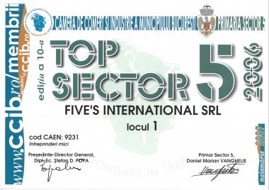 Locul 1 - TOP 2006 CCIB